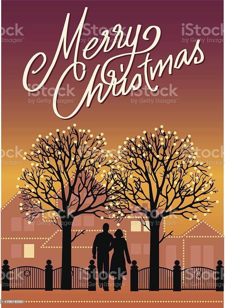 Merry christmas! royalty-free stock vector art