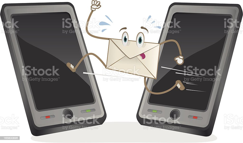 Message royalty-free stock vector art