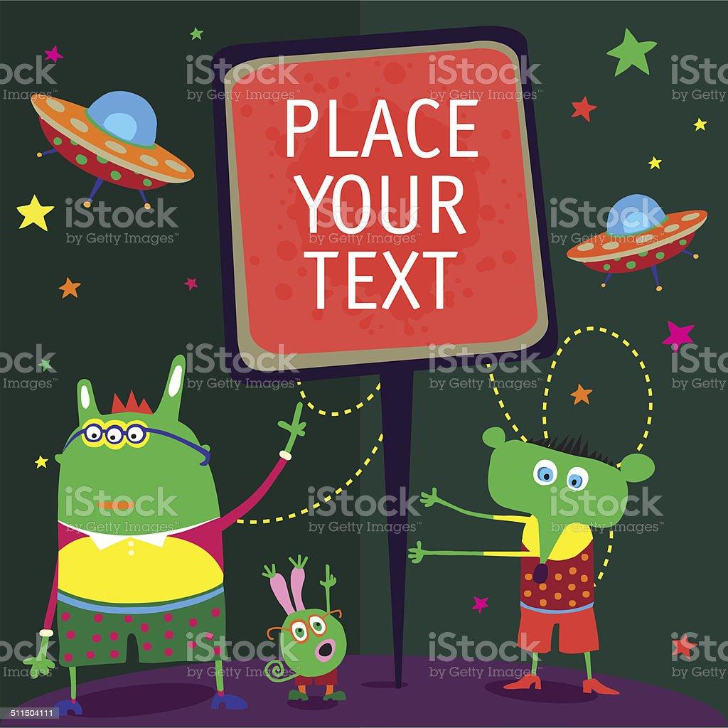 Message vector art illustration
