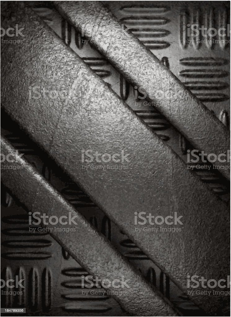 metal background royalty-free stock vector art