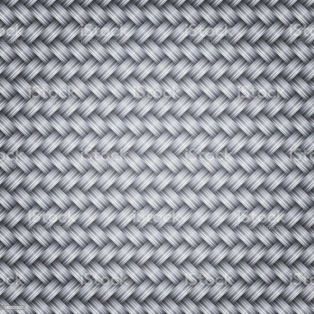 Metal fiber wicker texture background vector art illustration