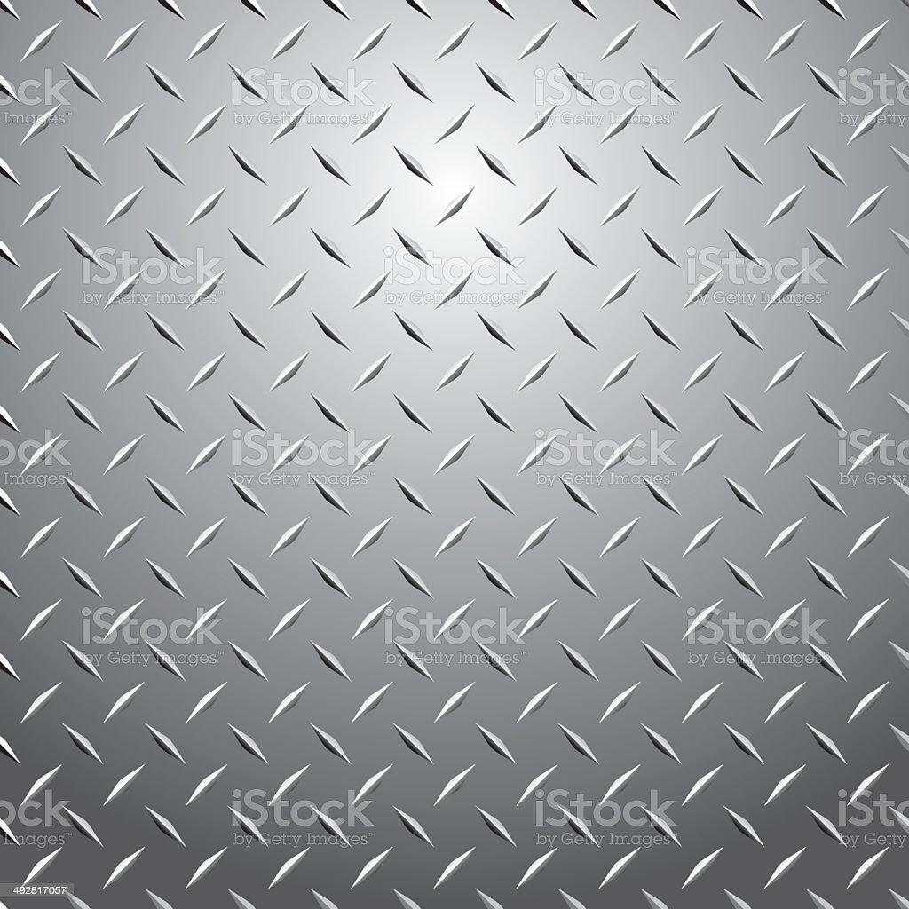 Metal Plate vector art illustration