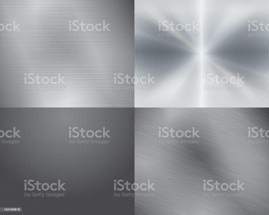 Metal texture background vector art illustration