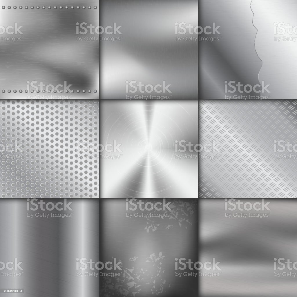 Metal texture pattern background vector metallic illustration background glossy effect vector art illustration