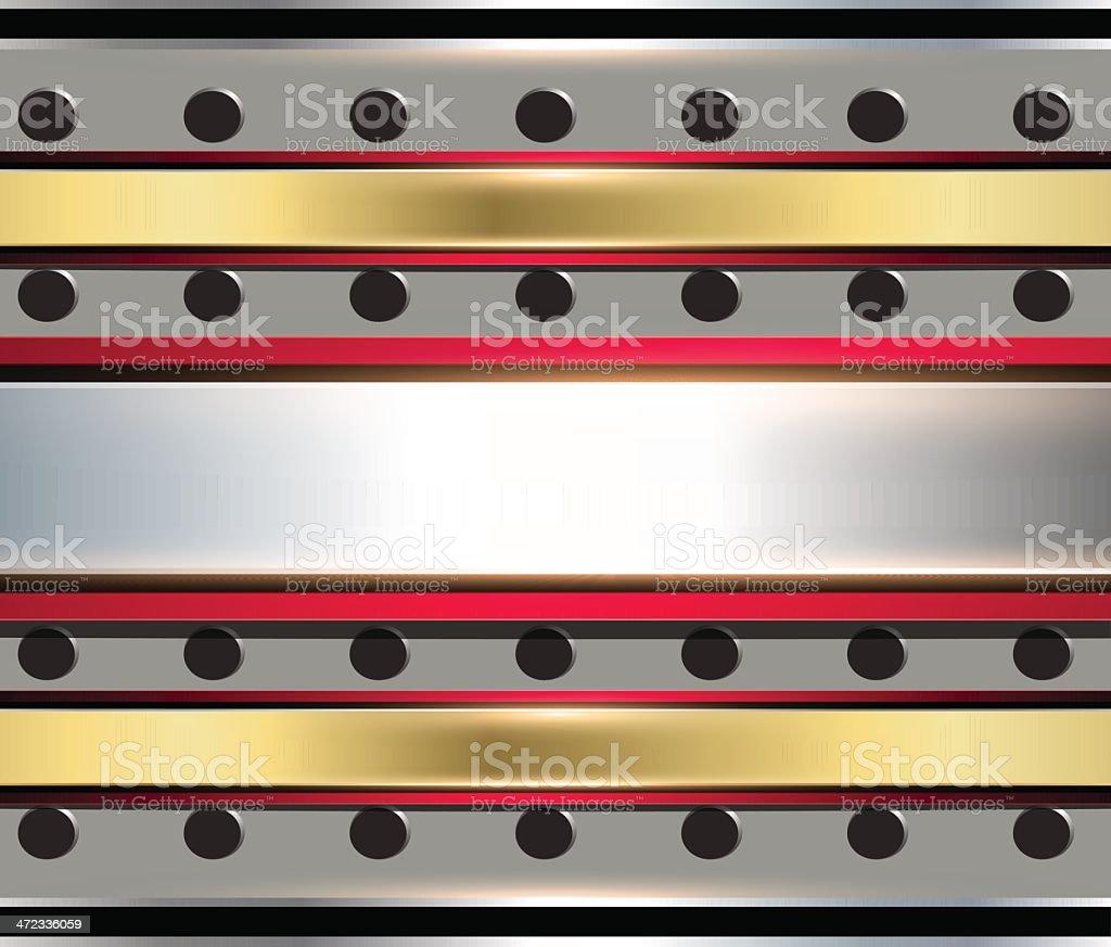 Metallic Background royalty-free stock vector art