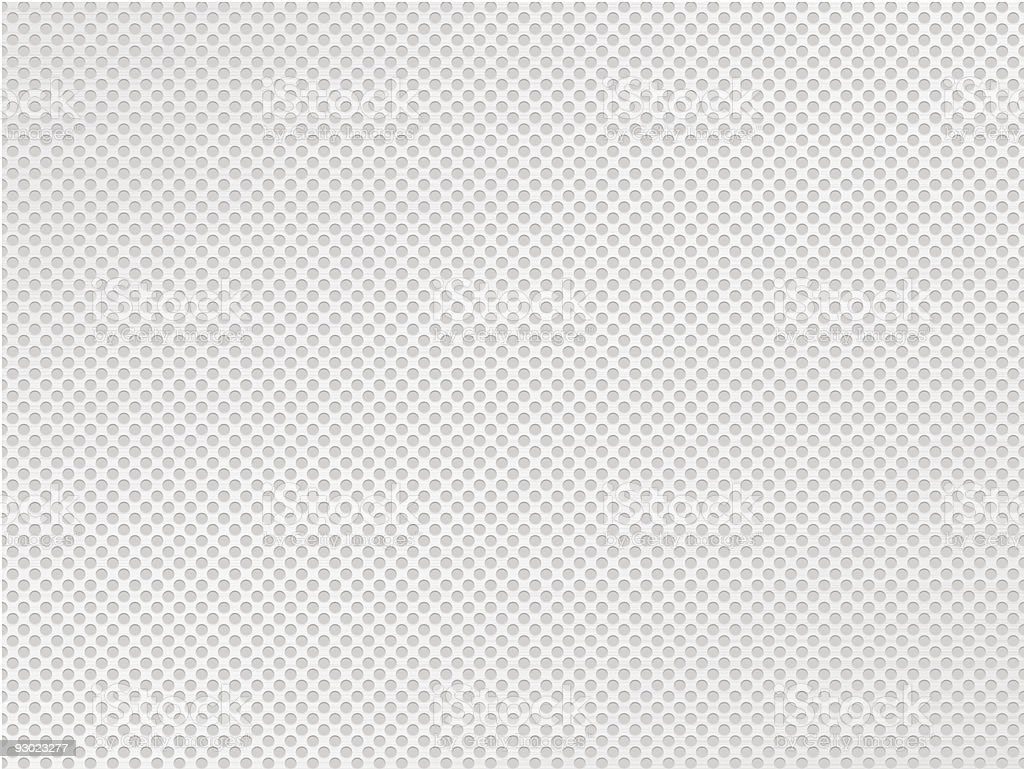 Metallic gray dotted background vector art illustration