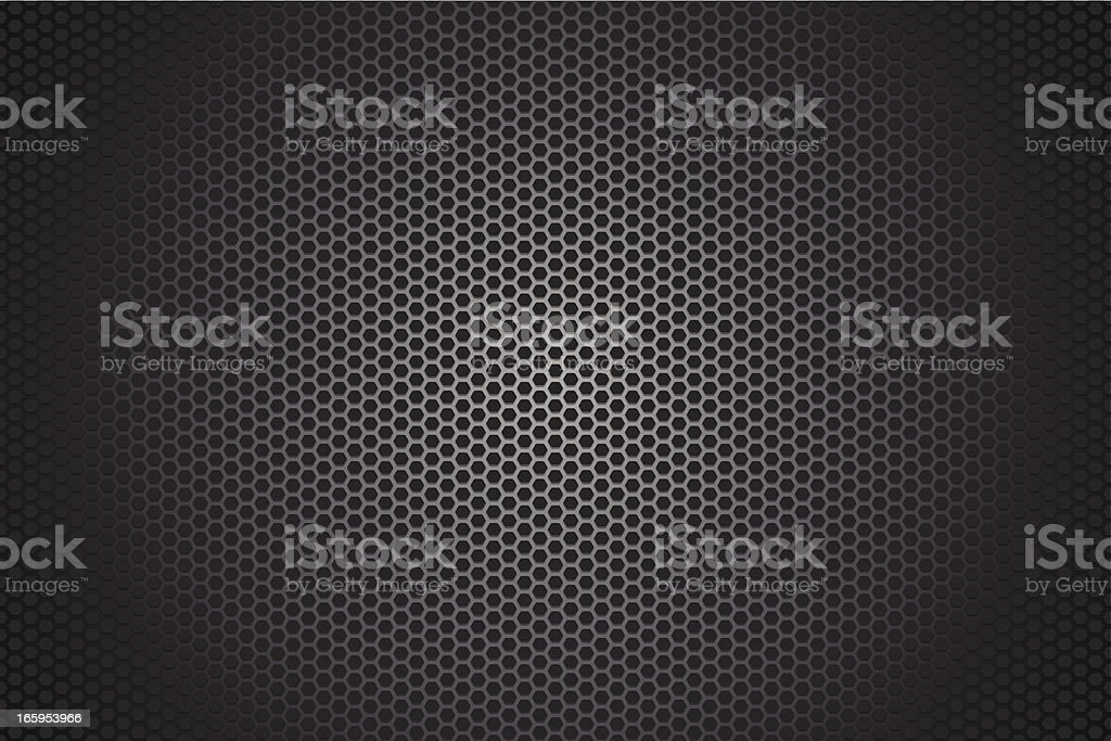 Metallic hexagon texture background royalty-free stock vector art