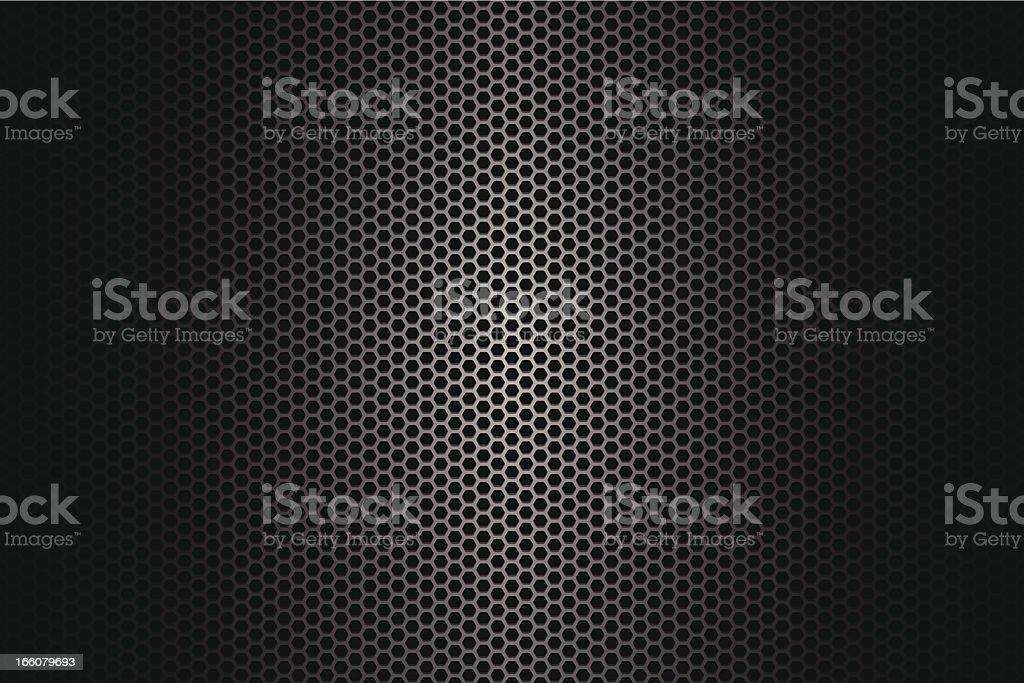 Metallic texture on wide Background royalty-free stock vector art