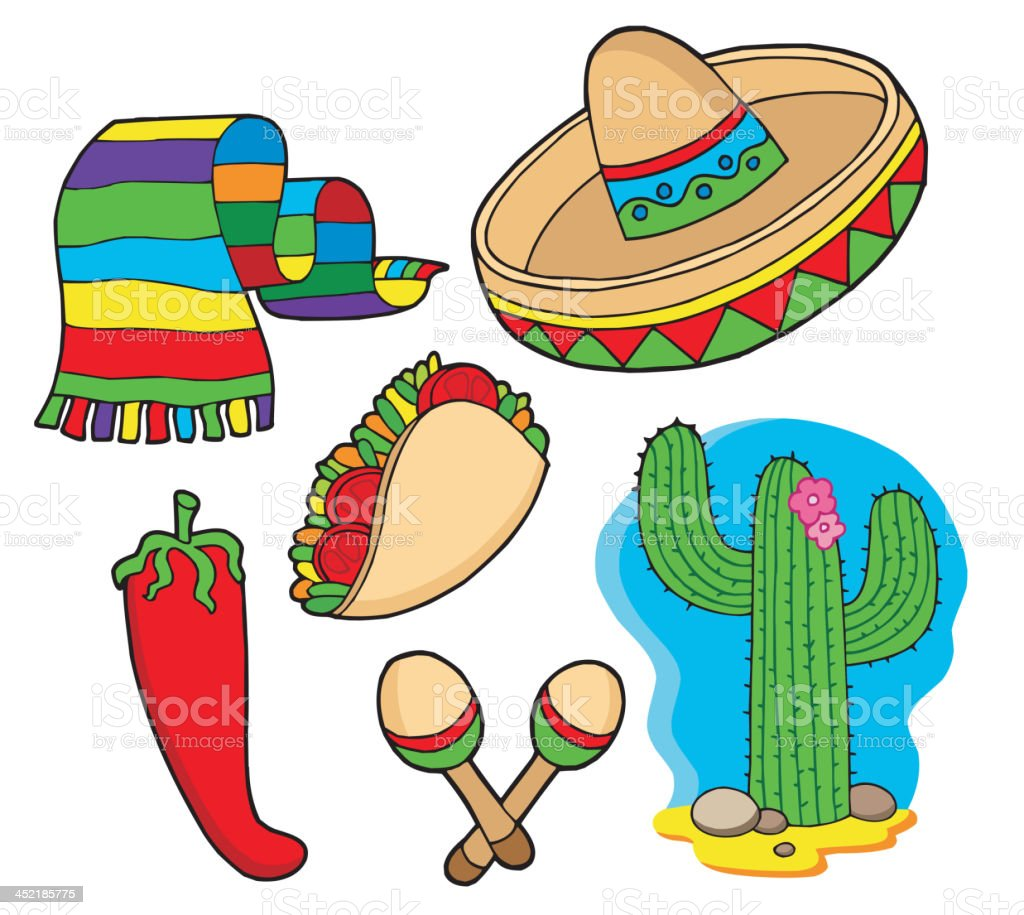 Mexican collection royalty-free stock vector art