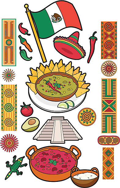Tortilla flatbread clip art vector images illustrations for Art culture and cuisine ancient and medieval gastronomy