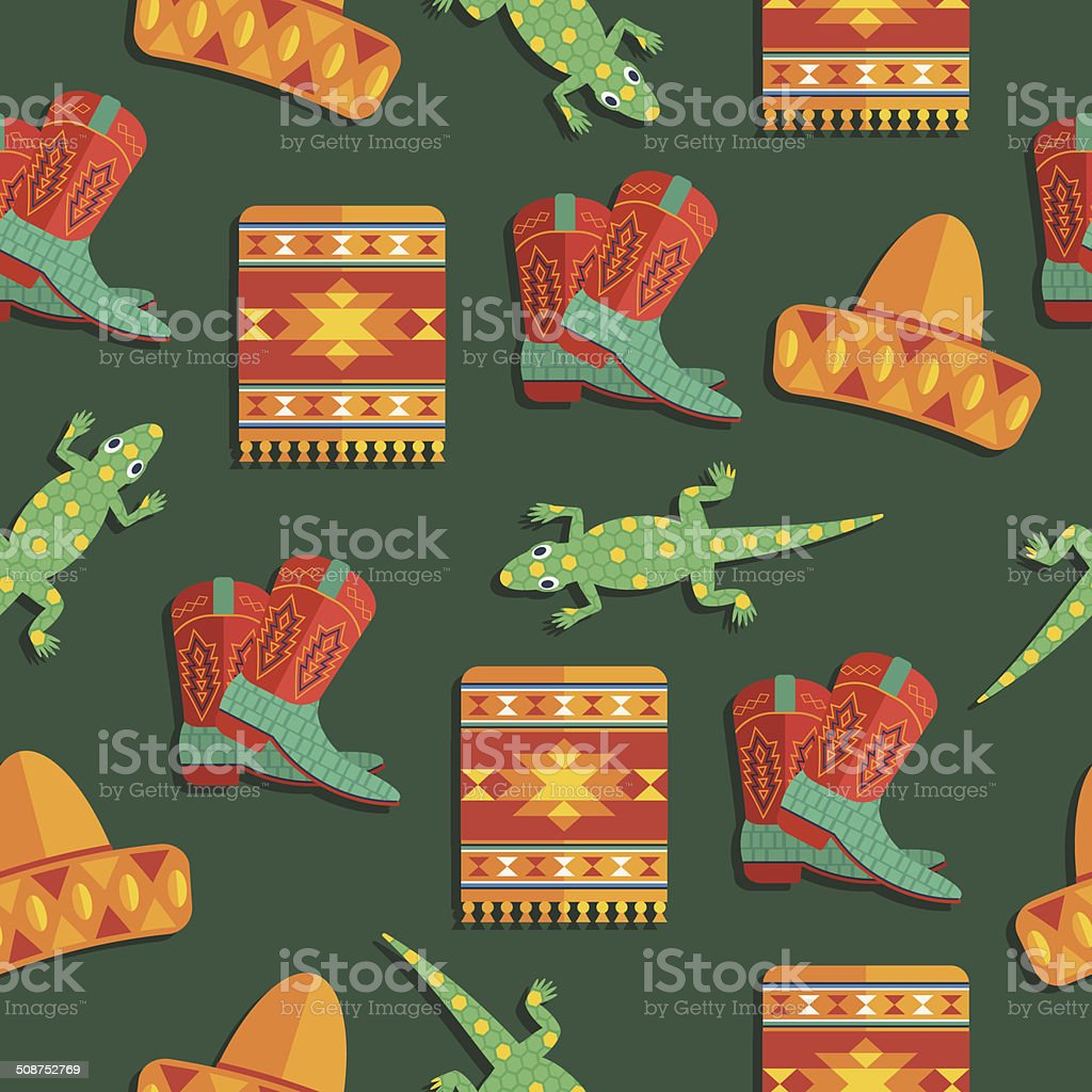 mexican pattern royalty-free stock vector art