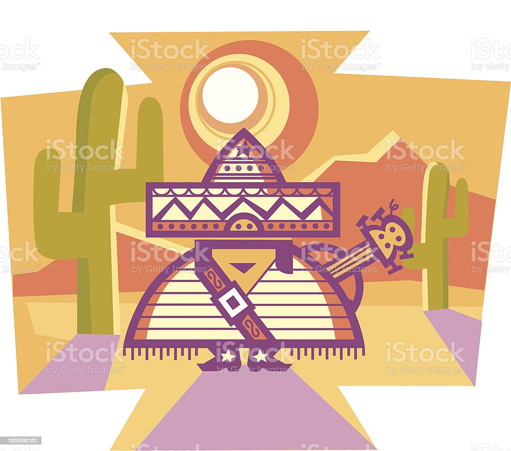 mexican royalty-free stock vector art