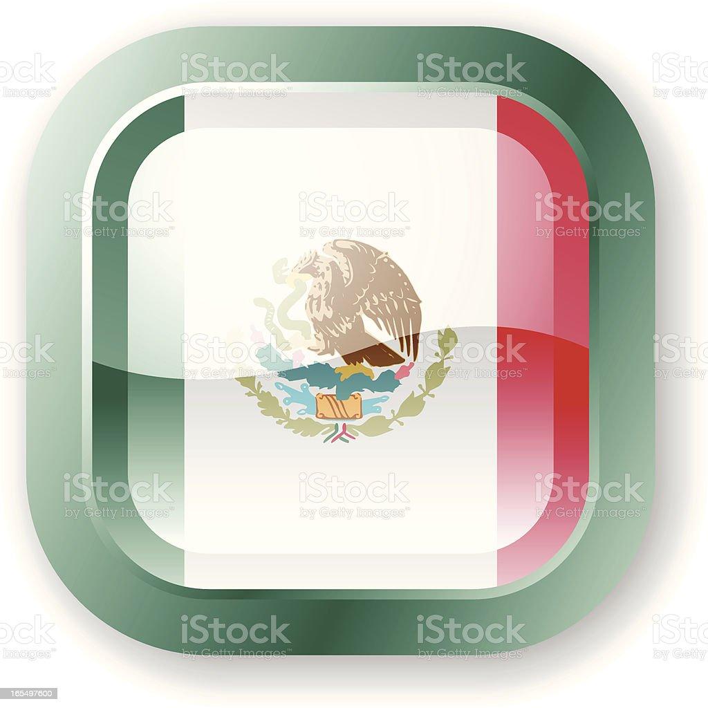 Mexico Flag Icon royalty-free stock vector art