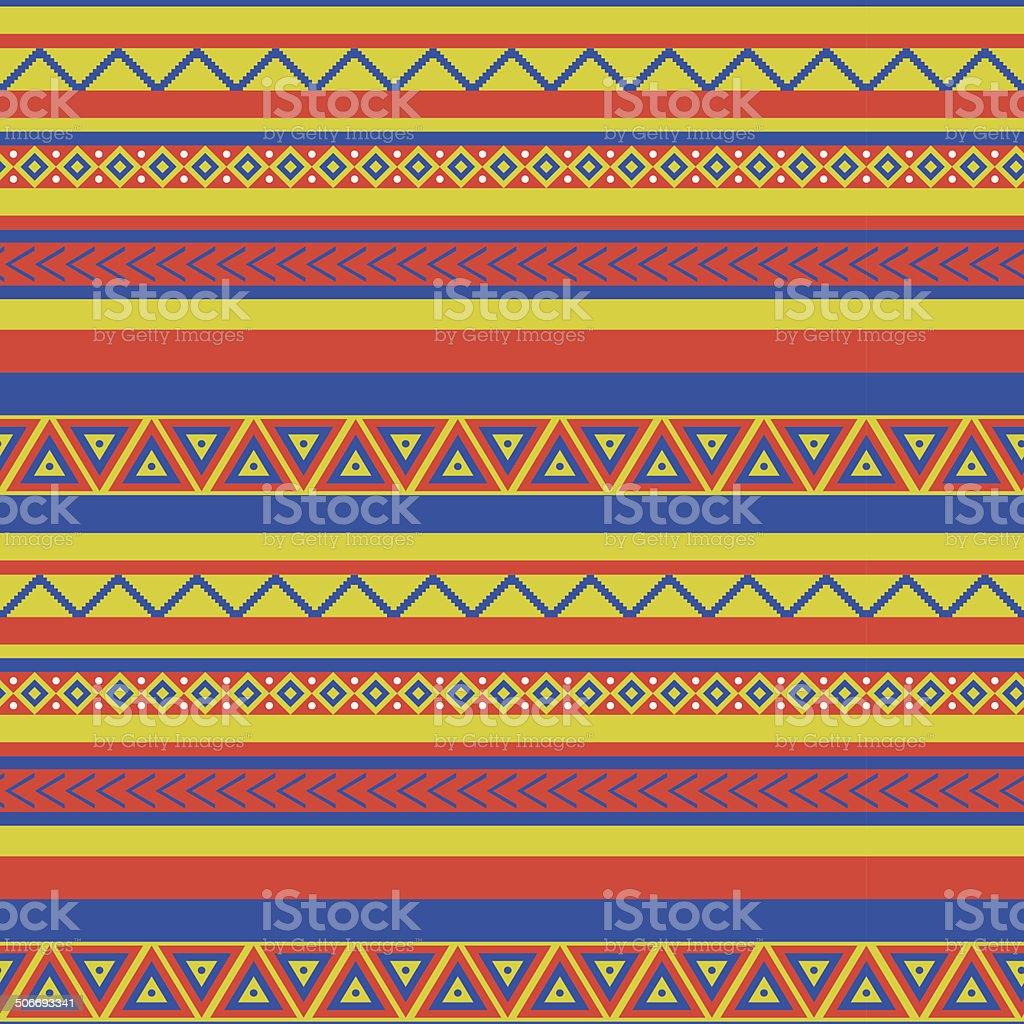 mexico pattern vector art illustration