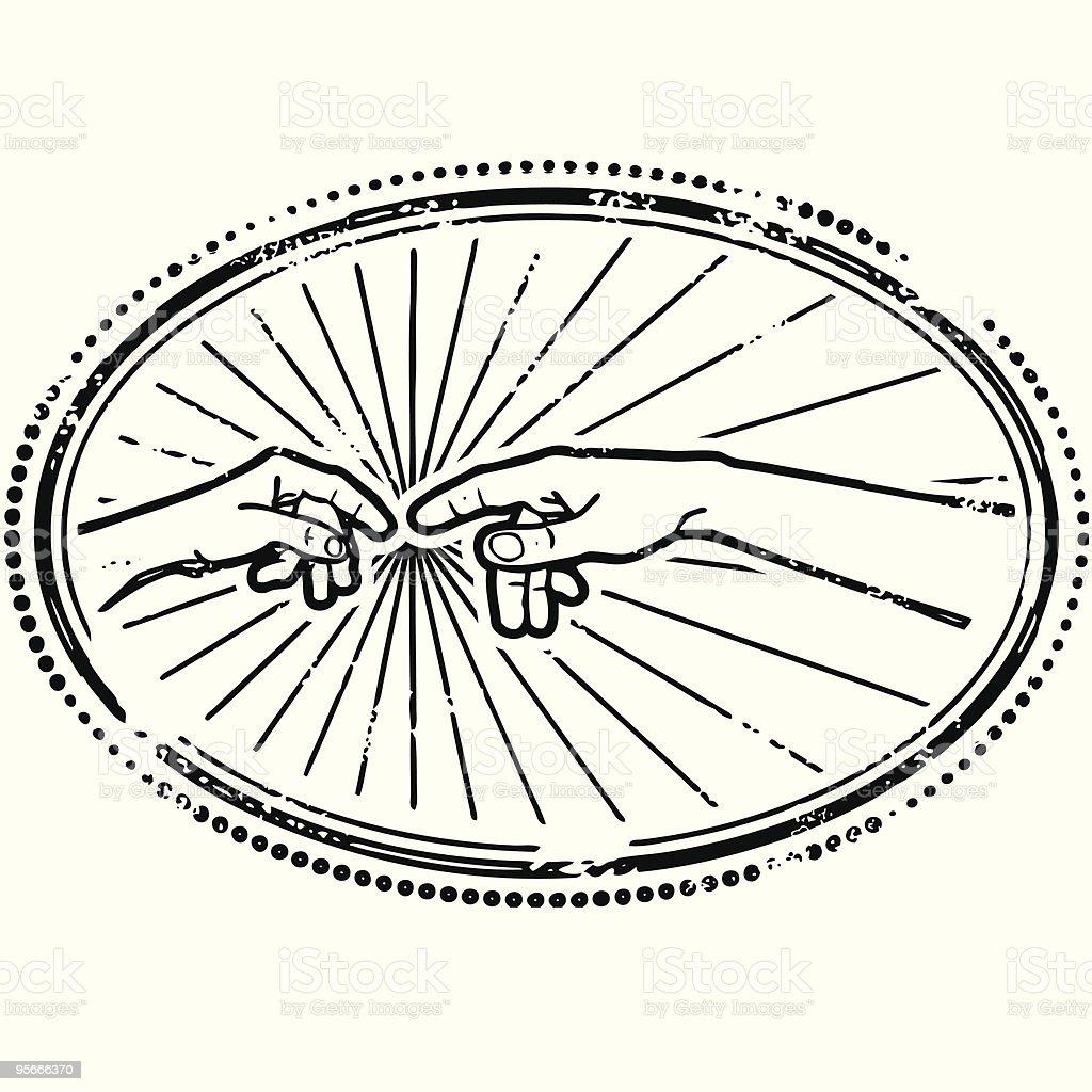Michelangelo graphique vector art illustration