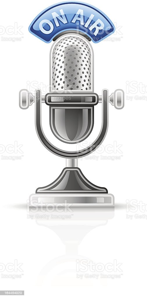 Microphone royalty-free stock vector art