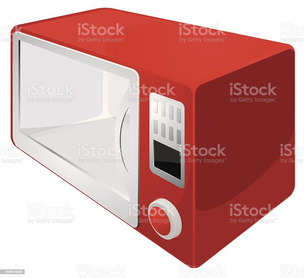 microwave vector royalty-free stock vector art