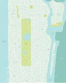 Mid Manhattan Map