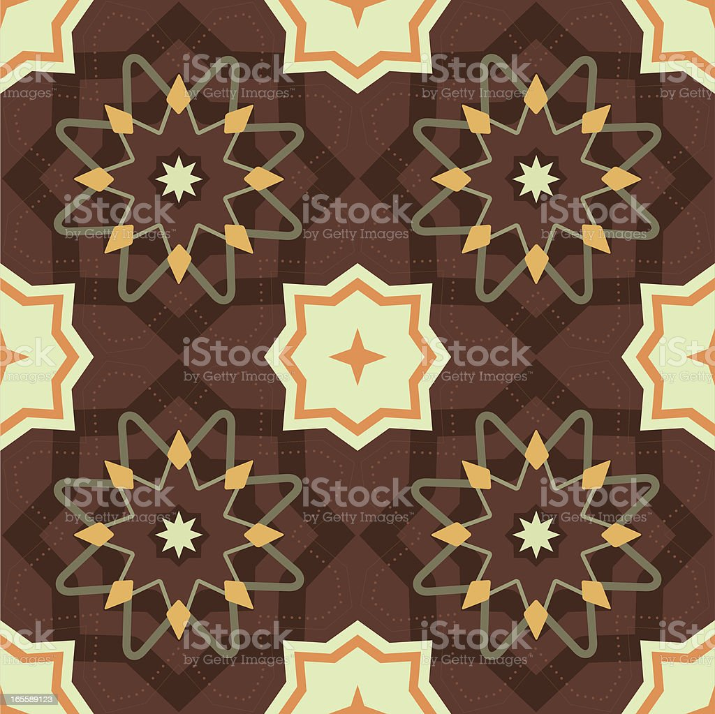 Middle Eastern Style Pattern royalty-free stock vector art