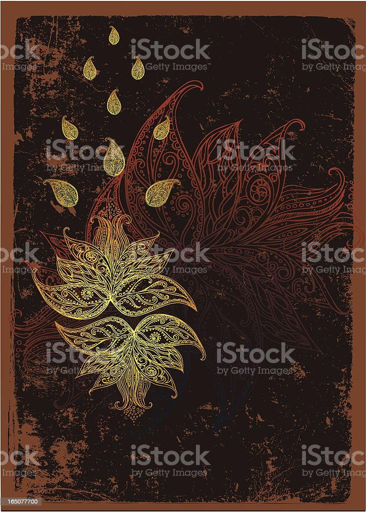 "Mitternacht lotus "" Lizenzfreies vektor illustration"