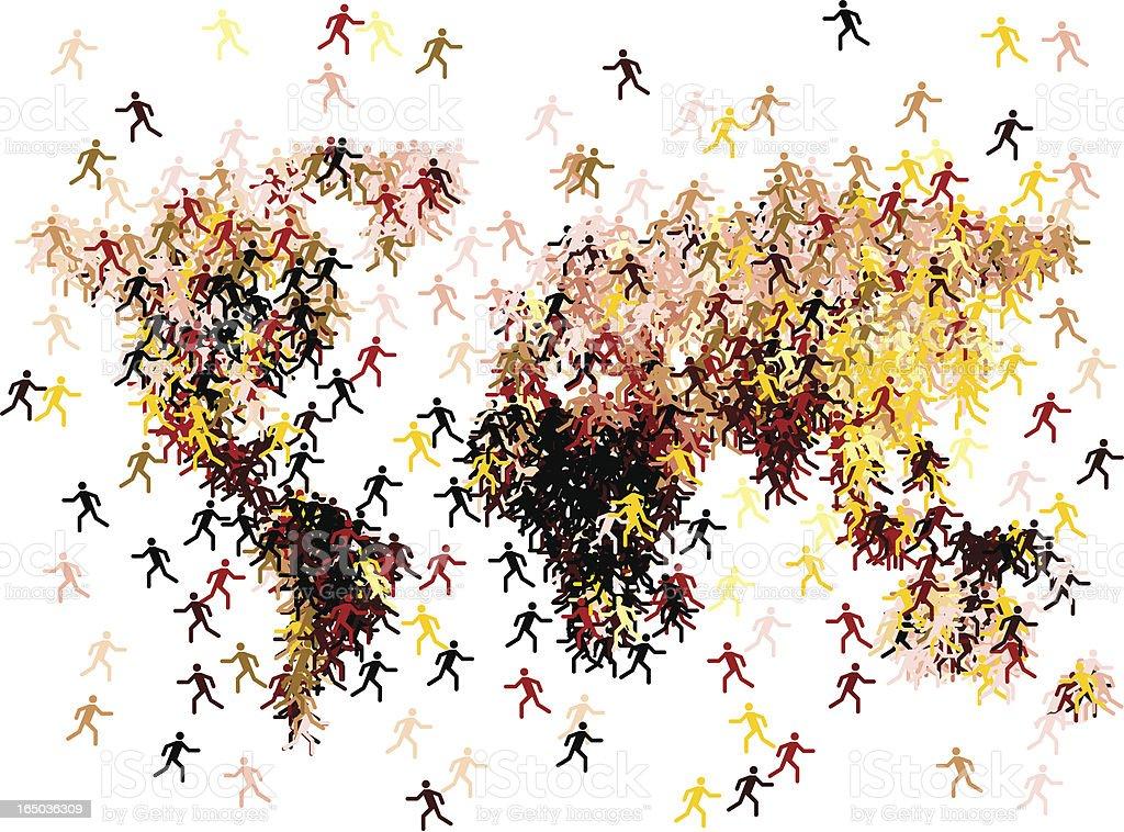 migration royalty-free stock vector art