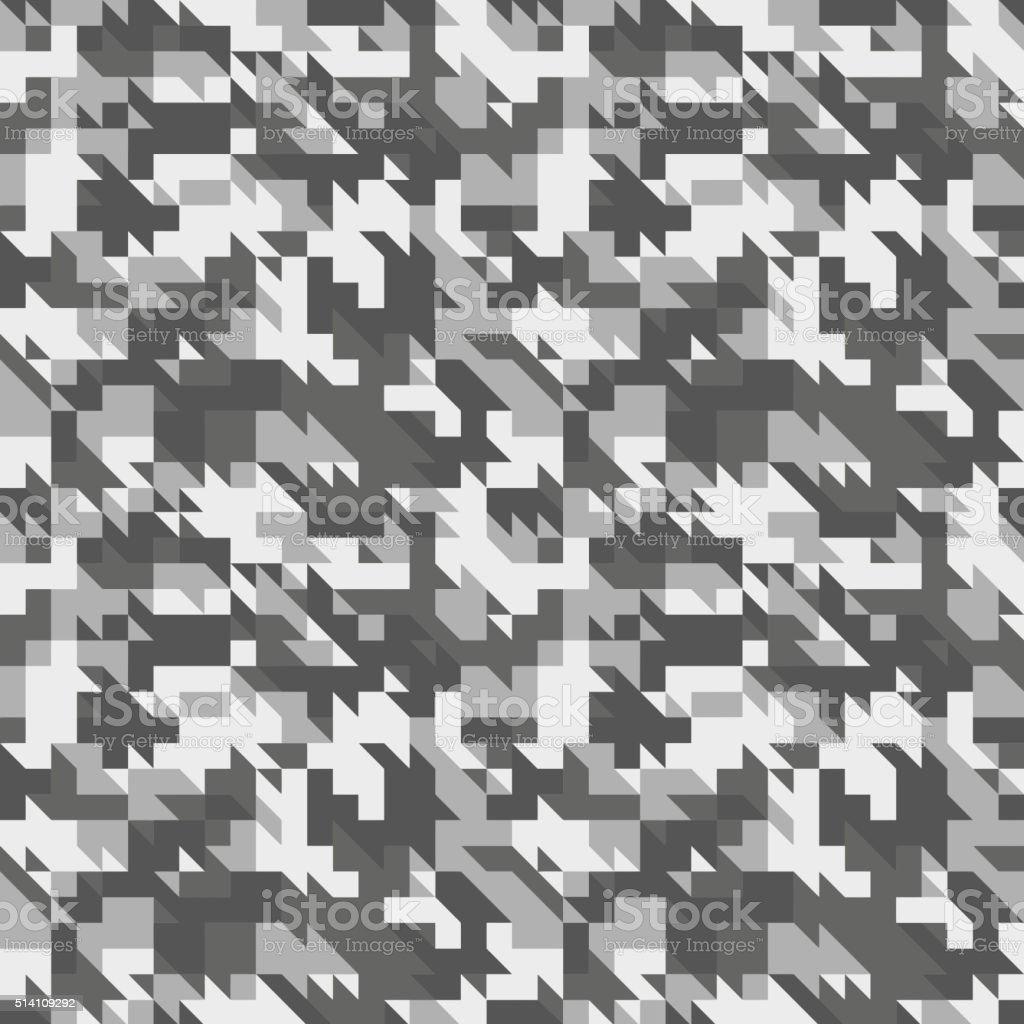 Military camouflage seamless pattern. vector art illustration