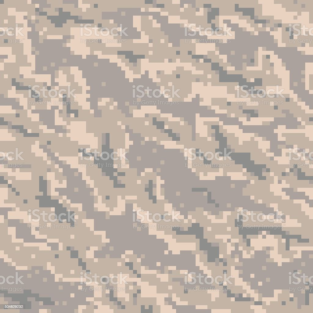 Military Camouflage Textile Pattern vector art illustration