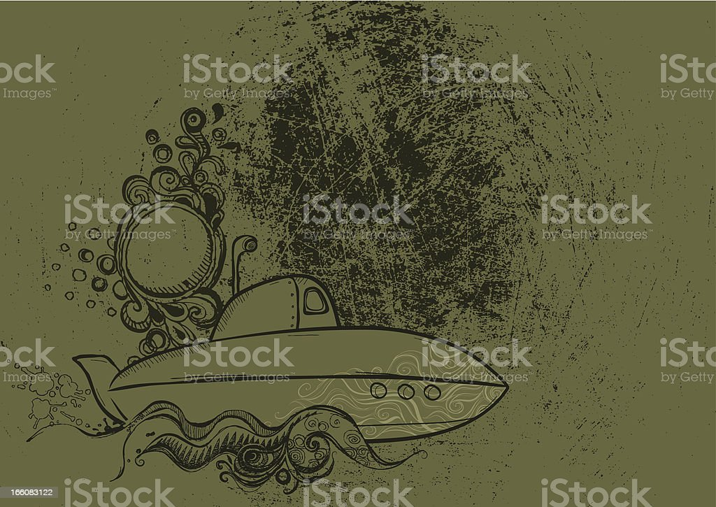 Military Grunge Background royalty-free stock vector art