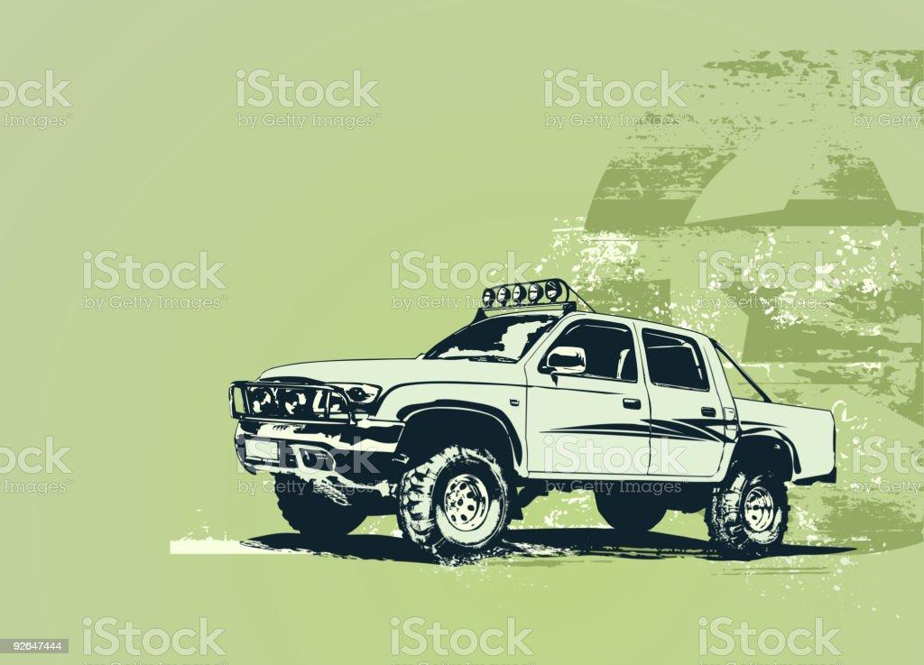 military vehicle royalty-free stock vector art