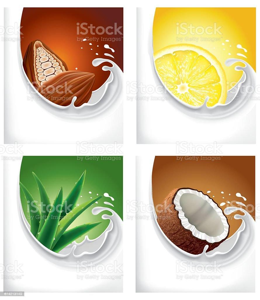 Lemon Slice In Water Splash Stock Photo - Image: 43932747