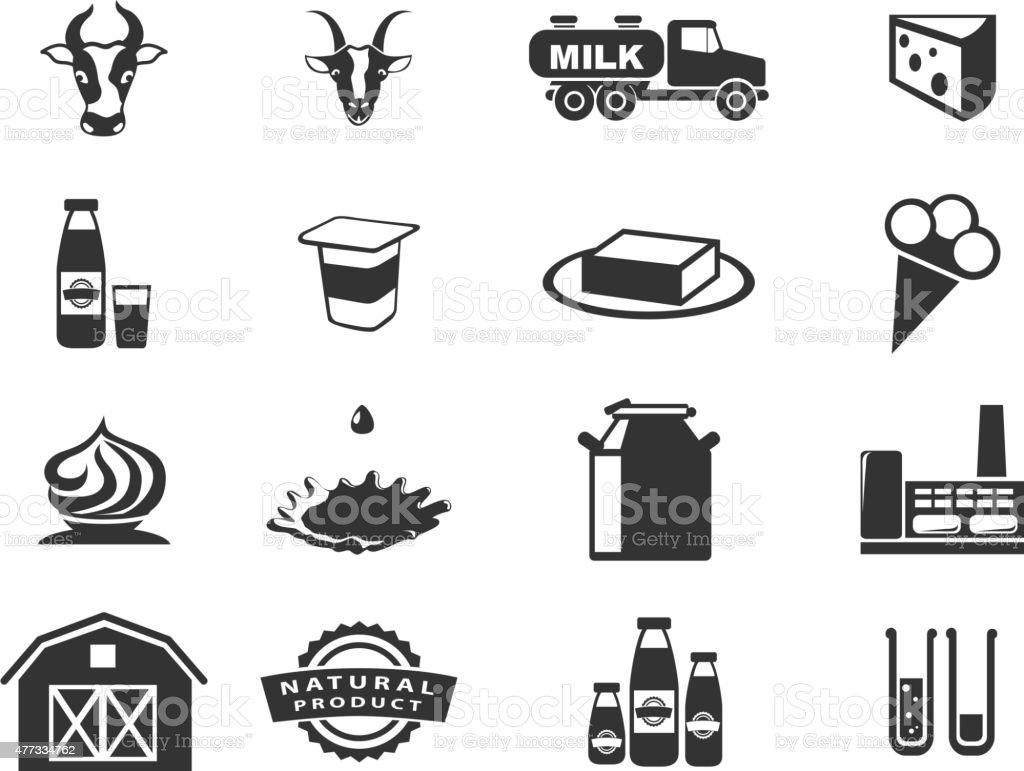 Milk vector art illustration