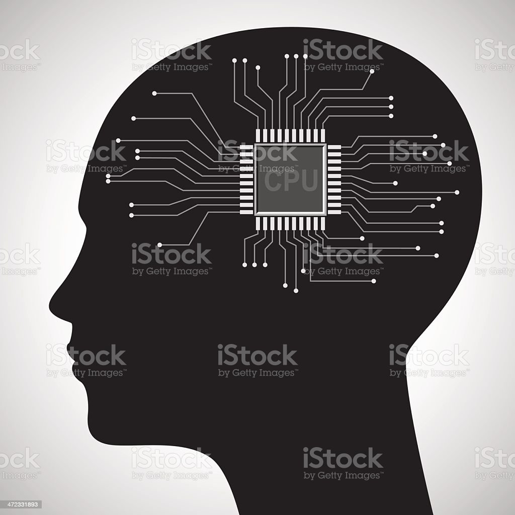Mind concept royalty-free stock vector art