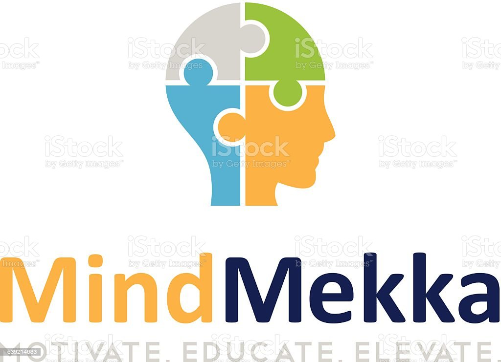 Mind Meka vector art illustration