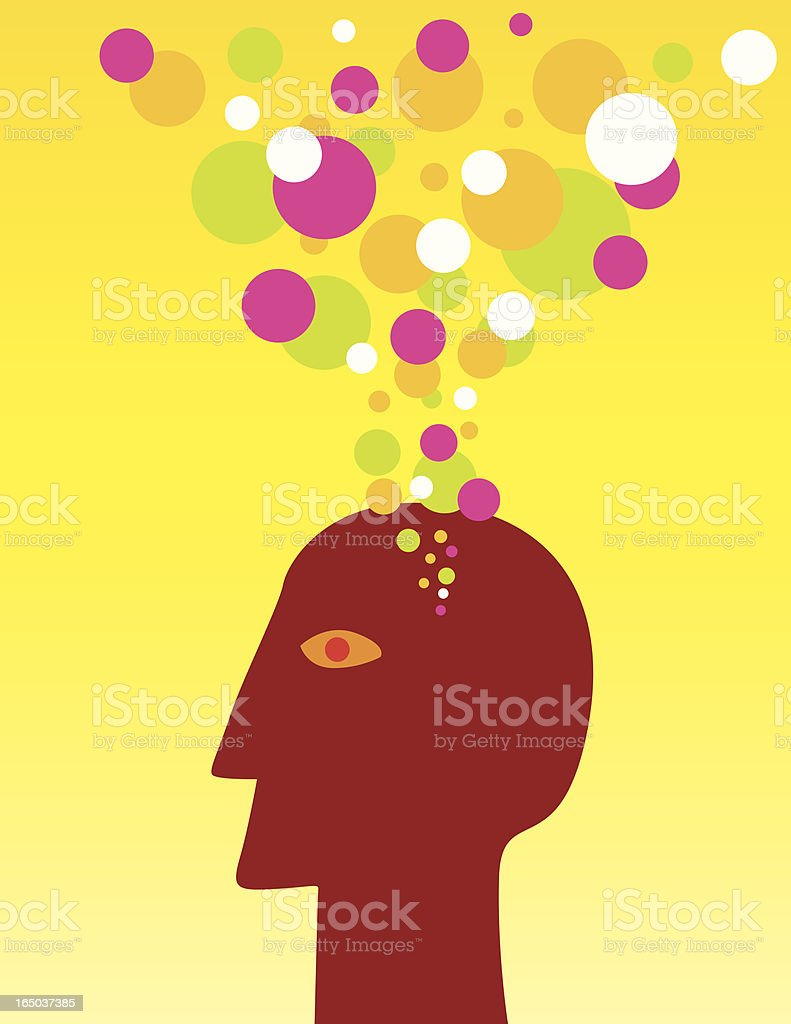 mind royalty-free stock vector art