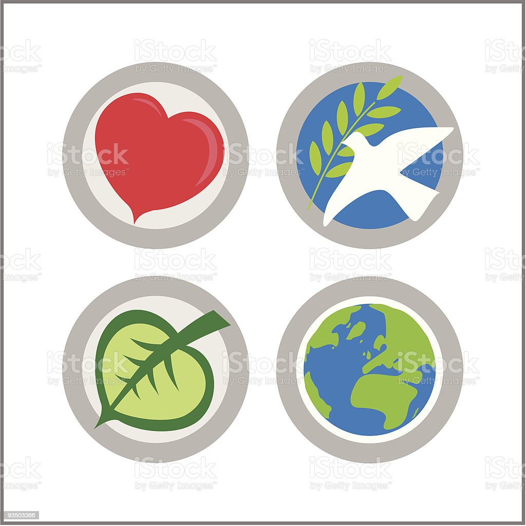 GLOBAL: Mini Icon Set 02 - Version 1 royalty-free stock vector art