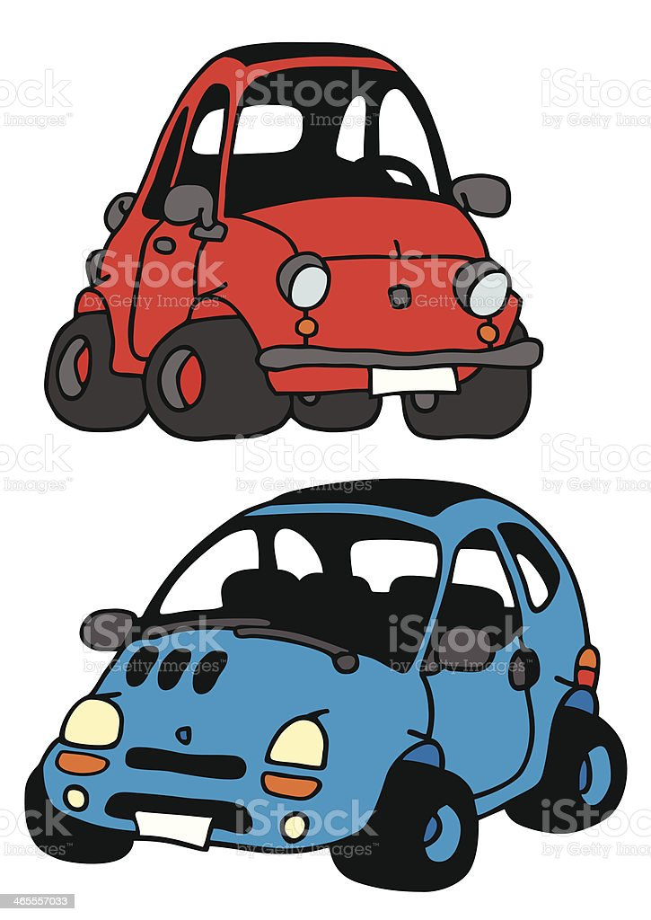 minicars royalty-free stock vector art