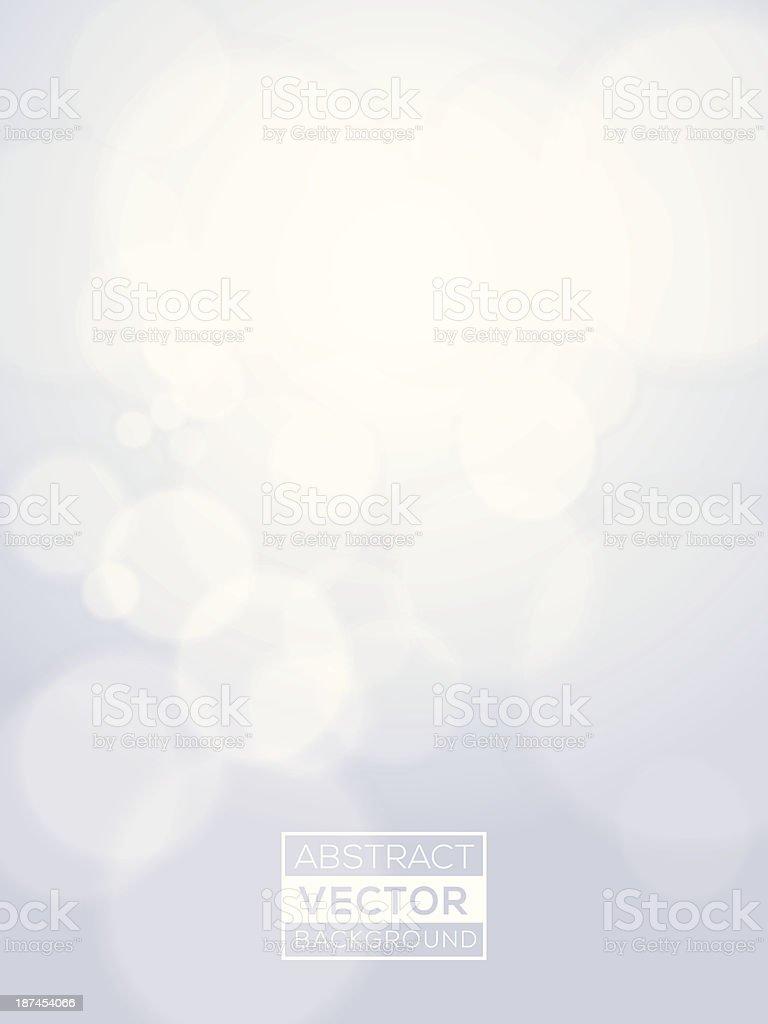 Minimal futuristic abstract Vector Bright Bokeh Background vector art illustration