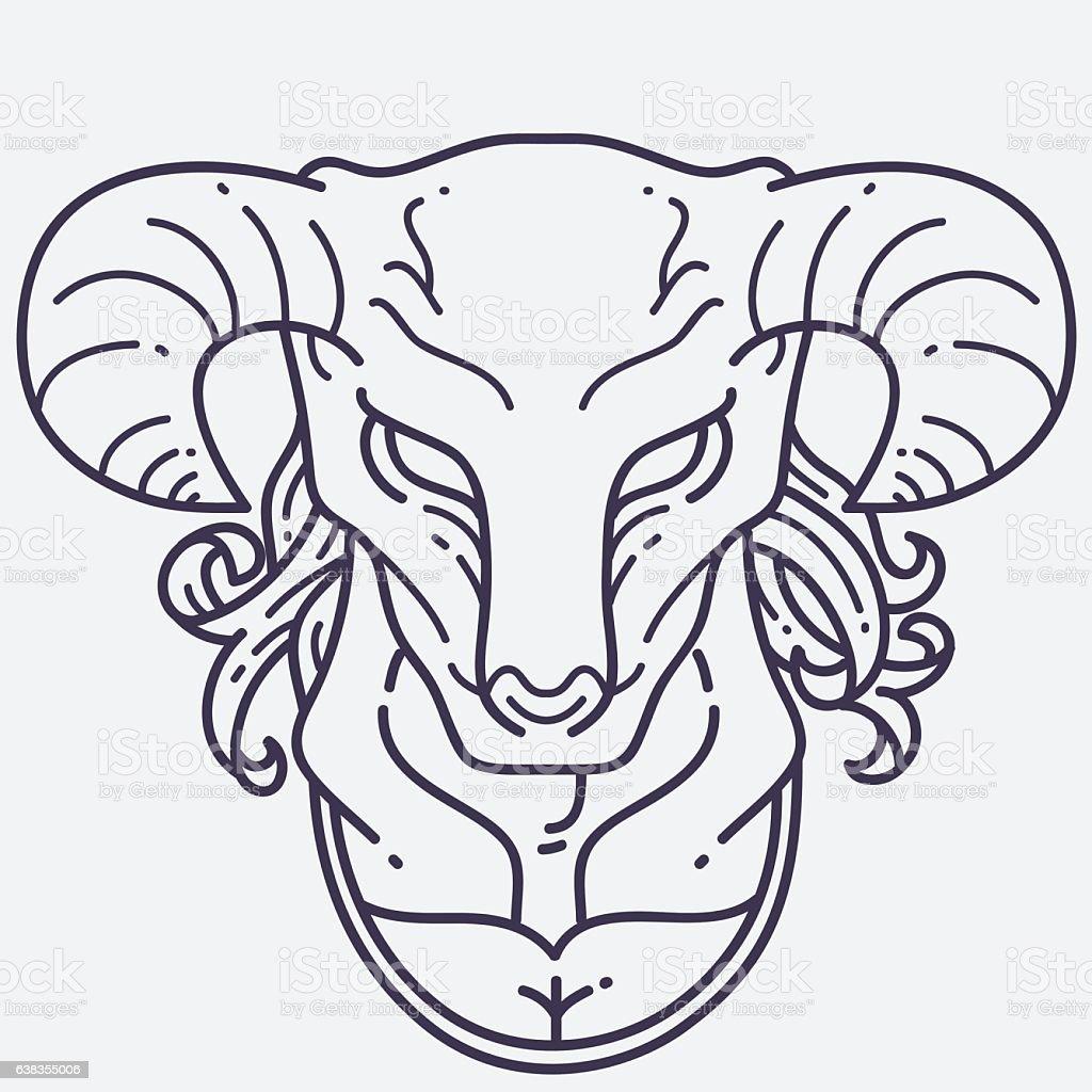 minotaur head stock vector art 638355006 istock