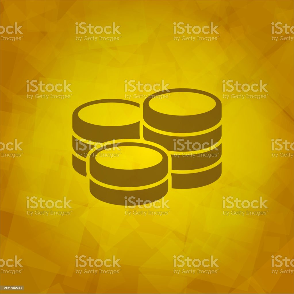 Mioney Icon royalty-free stock vector art