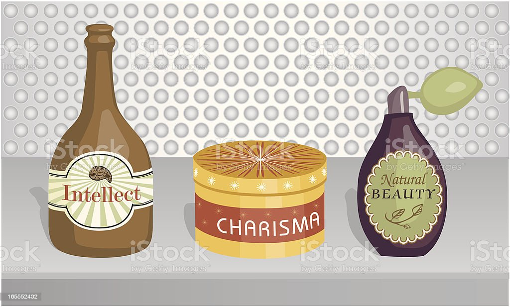 Miracle Products vector art illustration