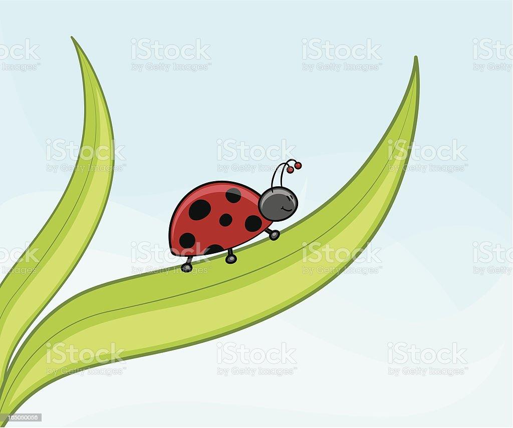 Miss Ladybug - incl. jpeg royalty-free stock vector art