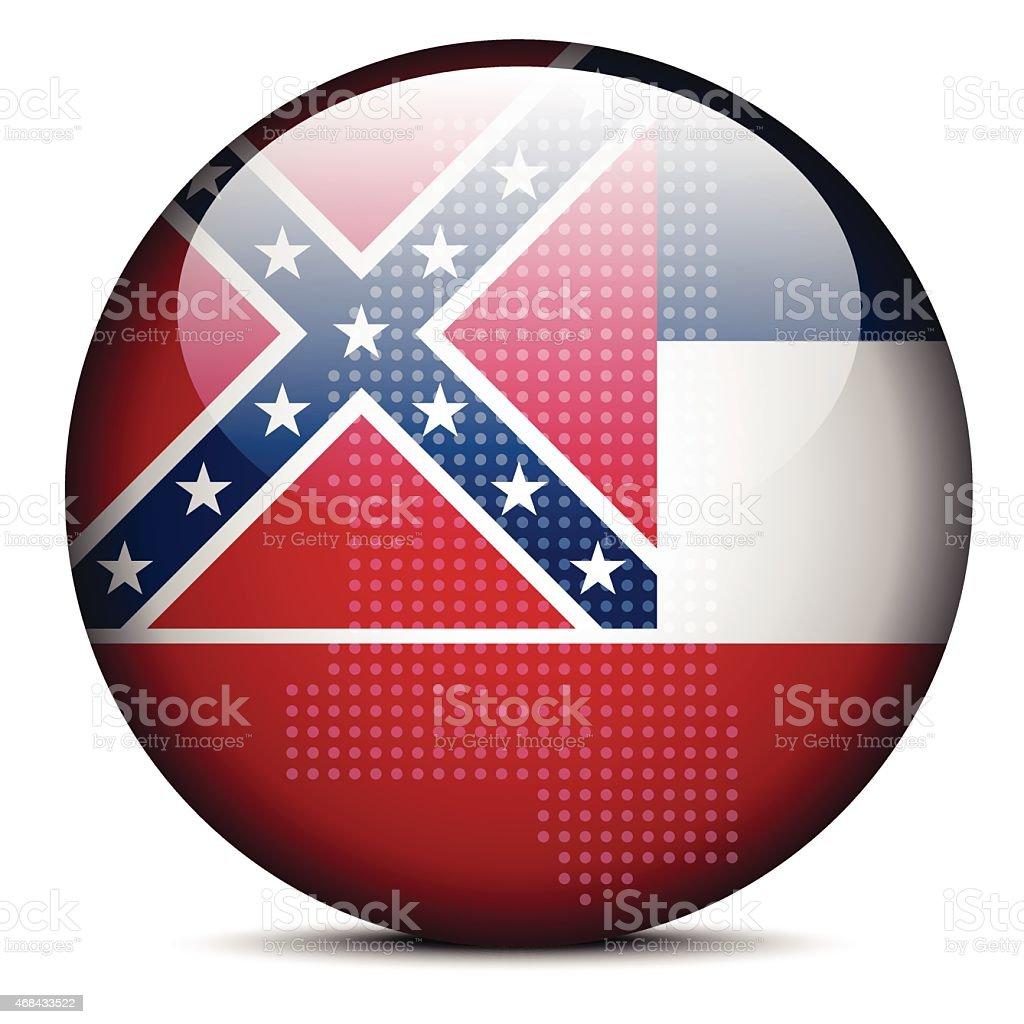 USA Mississippi State vector art illustration
