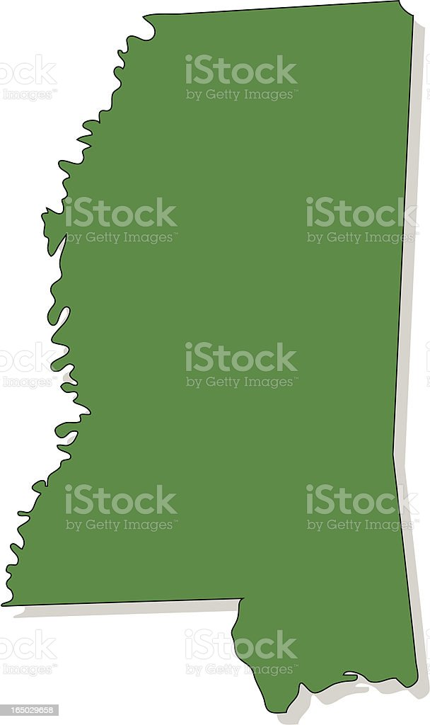 Mississippi royalty-free stock vector art