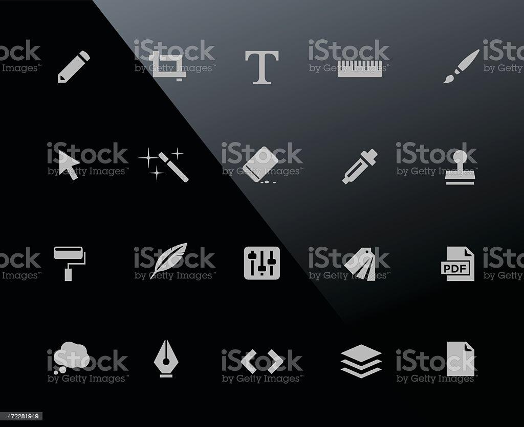 Mobi Icons | Creative royalty-free stock vector art