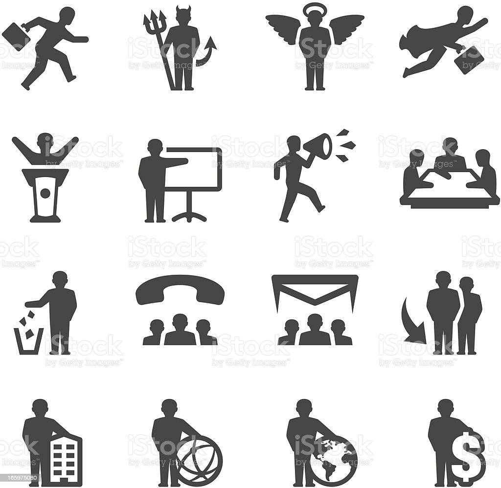 Mobico icons - Business Relationship vector art illustration
