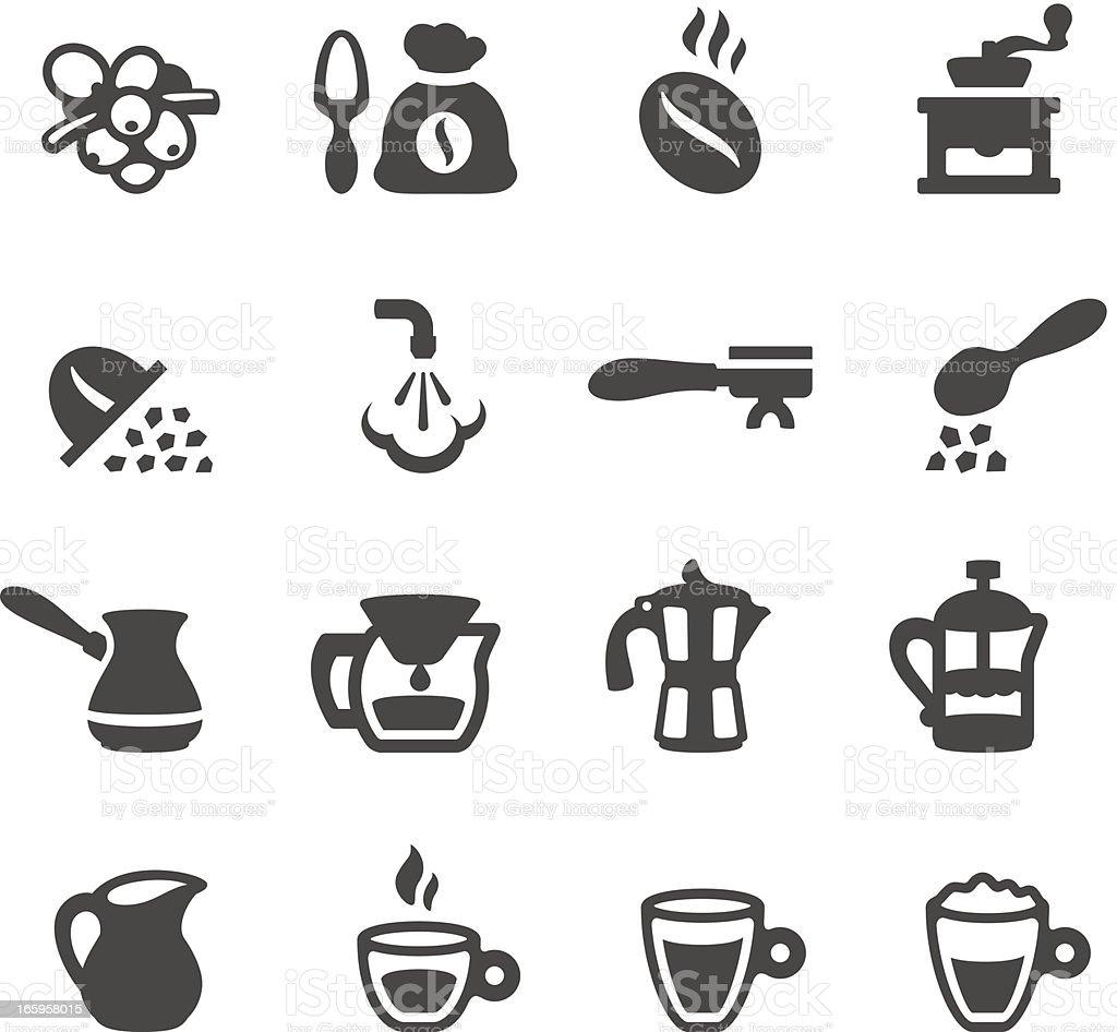 Mobico icons - Espresso Coffee vector art illustration