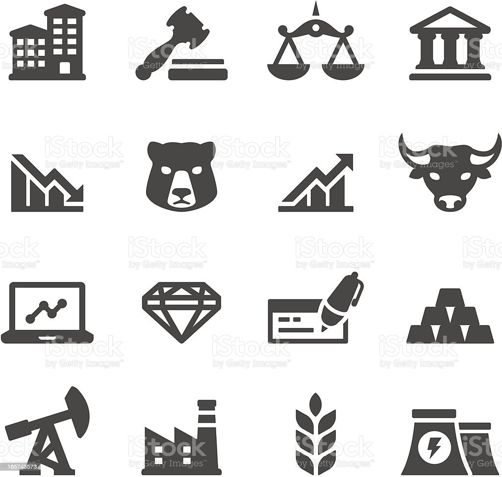 Mobico icons — Investment vector art illustration