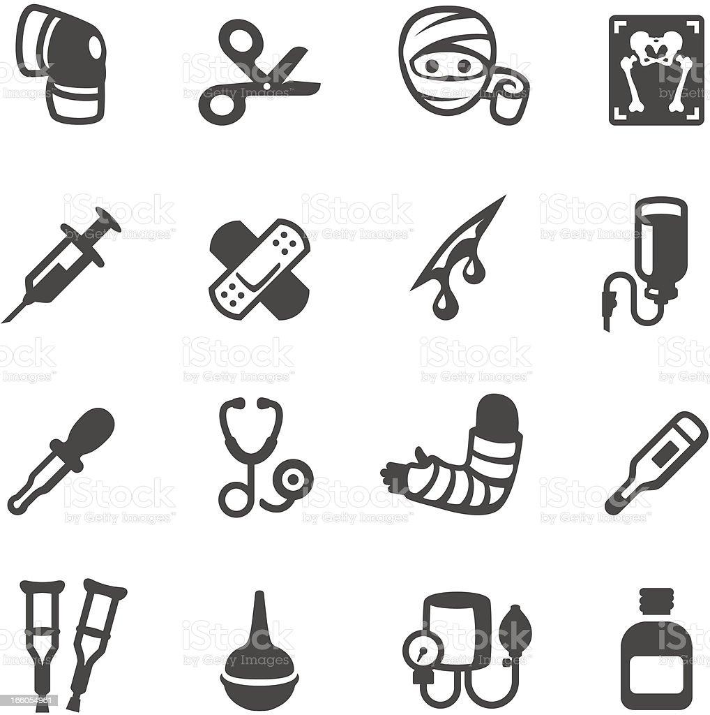 Mobico icons - Medicine vector art illustration