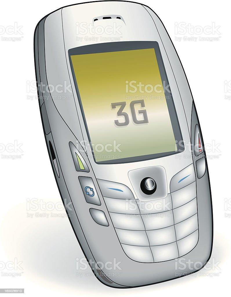 Mobile Camera Phone 3G royalty-free stock vector art