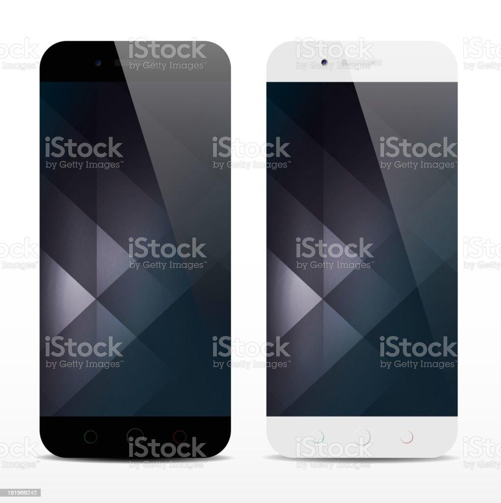 Mobile phone concept vector art illustration